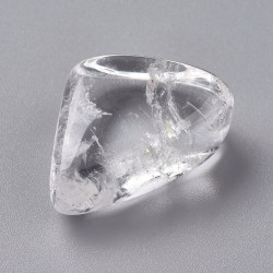 1 pierre roulée en cristal...