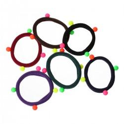 5 bracelets chouchous...