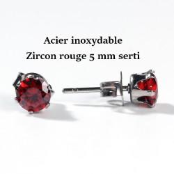 puce zircon rouge