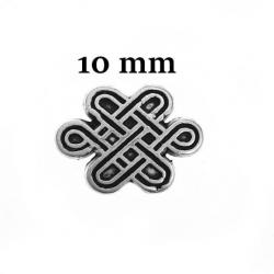 perles d'un noeud celtique 10 mm