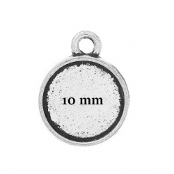 10 pendentifs supports de...