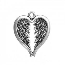4 breloques ailes d'ange...