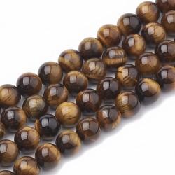 10 perles de 8 mm en Oeil...
