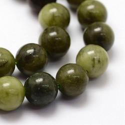 Perles naturelles en jade chinois