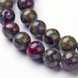 10 perles de 8 mm en...