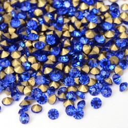 strass bleu 4 mm