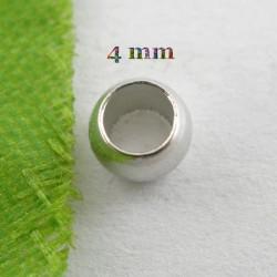 50 perles à écraser 4 mm