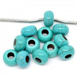 perles turquoise pour bracelet