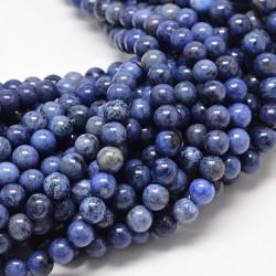 10 perles en dumortiérite...
