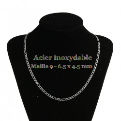 1 collier de chaine mailles...