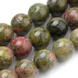 perles en unakite