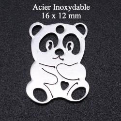 4 breloques d'un Panda en...