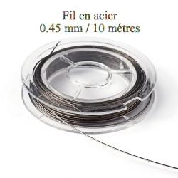 1 bobine de fil en acier...