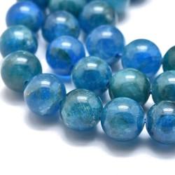 10 perles en Apatite, grade...